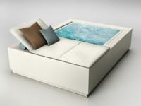 Insolite : une chaise longue avec piscine intégrée