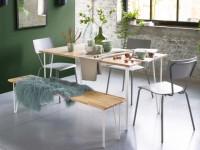 Un banc dans la salle à manger : 10 intégrations réussies
