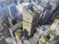 Vivre dans un gratte-ciel en bois plus haut que la tour Eiffel !