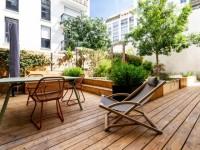 Un jardin asiatique prend vie à Montmartre