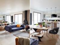 Atmosphère cosy et volumes généreux pour cette maison à ossature bois