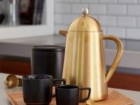 7 décembre : une cafetière dorée !