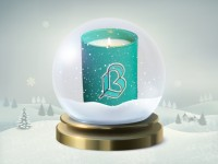 13 décembre : une bougie colorée au parfum original !