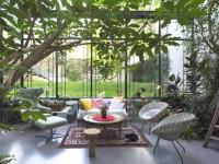 Une verrière aux dimensions hors norme pour un extraordinaire jardin d'hiver