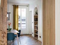 Un appartement ancien sublimé par des lignes contemporaines