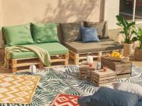 10 canapés en palettes pour mon jardin