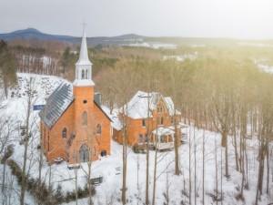 Une église transformée en une étonnante