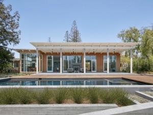 Luxe, nature et écologie pour cette villa