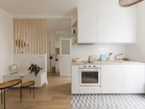 Un 17 m2 habilement réagencé pour plus d'espace