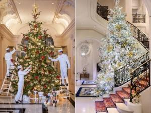 Les grands hôtels nous font rêver pour Noël