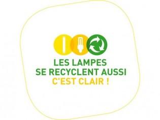 Recyclez vos lampes usagées !