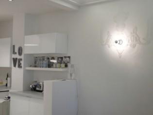 Un appartement au blanc dominant