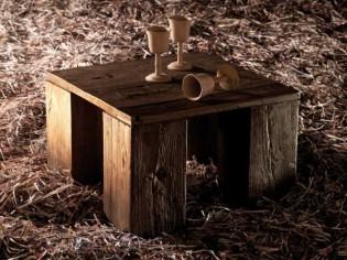 Du bois à l'état brut