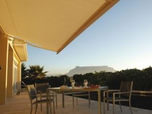 En plein été, dans la maison comme sur la terrasse, la température est toujours agréable !