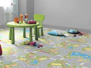 Chambres d'enfants : la dynamique par le sol