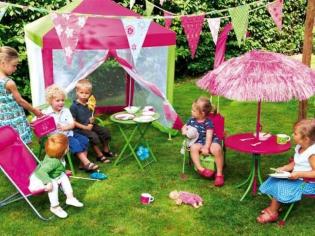 Le mobilier outdoor version enfant