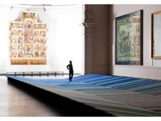 """Un tapis """"lounge"""" de 30 mètres de long"""