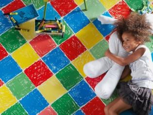 Quel revêtement de sol pour une chambre d'enfant ?