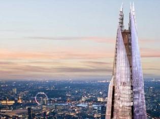 La plus haute tour d'Europe est londonienne