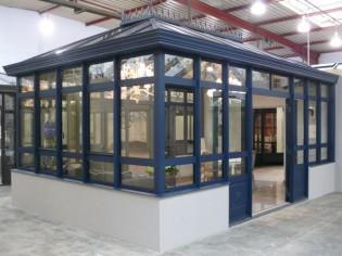 Un showroom pour imaginer sa véranda