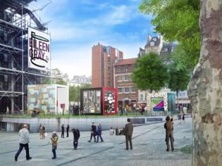 Leroy Merlin investit le parvis du centre Pompidou