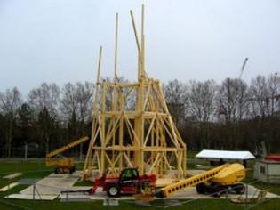 Une tour éternellement inachevée au parc de la Villette