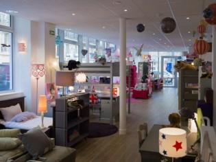 Un concept-store de 300 m² dédié à l'ameublement enfant et ado en plein Paris
