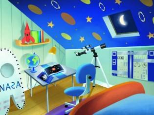 Pas à pas avec son enfant : réalise ta chambre d'astronaute !