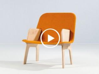 Stacked : le fauteuil malin qui se monte et se démonte en moins d'une minute (VIDEO)