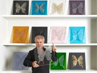 Lalique s'envole avec Damien Hirst