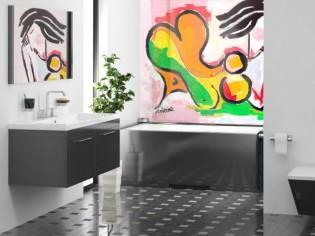 L'art contemporain comme solution pour rénover sa cuisine et sa salle de bains