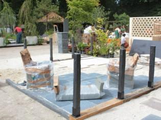 """Jardins jardin 2015 : esprit minéral pour un """"jardin à part"""""""