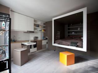 Petit espace : 12 aménagements autour d'un cube