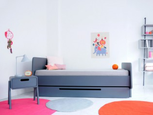 Aménager une chambre d'enfant : zoom sur la table de chevet