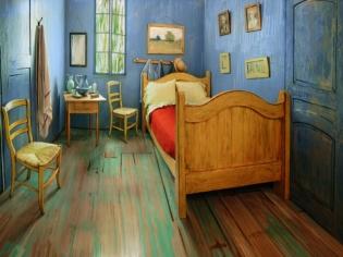 Dormir dans la chambre de Van Gogh, c'est possible !