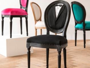 Insolite : Une chaise qui porte le smoking