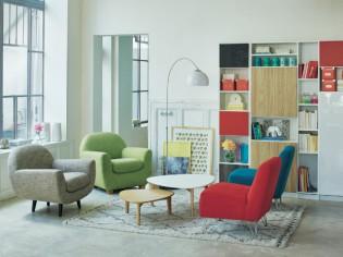 Un salon sans canapé pour optimiser l'espace