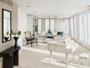 Deux appartements réunis en un penthouse familial et lumineux