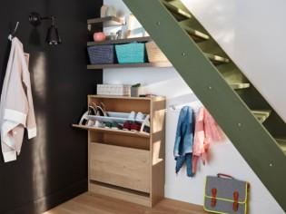 Rangements et aménagements sous l'escalier : 15 exemples malins