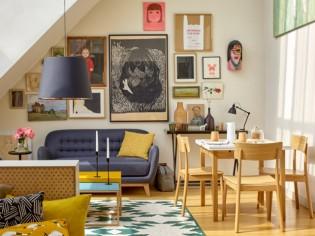 Décoration intérieure : osez l'accumulation de tableaux !