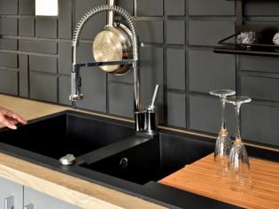 Eole de CAREA®, un évier soufflant qui sèche la vaisselle