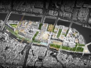 Voici à quoi pourrait ressembler l'Île de la Cité à l'horizon 2040...