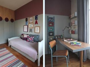 Deux chambres, deux soeurs, deux univers