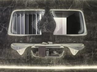 Une salle de bains aux lignes organiques signée Zaha Hadid