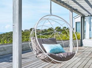 Jardin, terrasse : la folie des fauteuils cocons