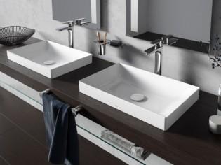 Vasque salle de bains : l'ultra finesse, c'est tendance