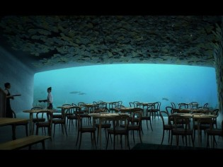 Under, un restaurant sous-marin... pour flirter avec les abysses