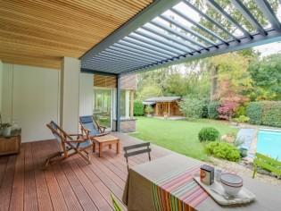 Quand une terrasse devient l'atout charme d'une maison...