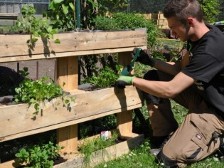 Jardiner en ville, ça s'apprend !