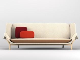 Concours Cinna : Shell, un canapé lit pas comme les autres